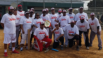 Champions Compete in Senior Softball Crown Jewel |